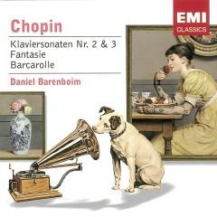 Chopin: Klavierkonzertsonaten Nr. 2 & 3 - Fantasie - Barcarolle - Daniel Barenboim