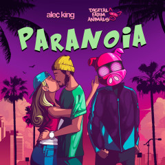 Paranoia (feat. Alec King) - Digital Farm Animals, Alec King
