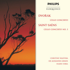Dvorak: Cello Concerto / Saint-Saëns: Cello Concerto No.1 - Christine Walevska, London Philharmonic Orchestra, Sir Alexander Gibson, Orchestre National de l'Opéra de Monte-Carlo, Eliahu Inbal