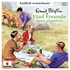 001/Fünf Freunde essen glutenfrei - Fünf Freunde - Endlich erwachsen