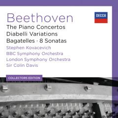 Beethoven: The Piano Concertos; Diabelli Variations; Bagatelles; 8 Sonatas - Stephen Kovacevich,BBC Symphony Orchestra,London Symphony Orchestra,Sir Colin Davis