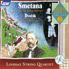 Smetana: The 2 String Quartets / Dvorak: Romance; 2 Waltzes - The Lindsays