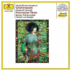 Rimsky-Korsakov: Scheherazade / Borodin: Polovtsian Dances - Berliner Philharmoniker, Herbert von Karajan