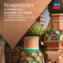 Tchaikovsky: Symphony No.5; Serenade for Strings - Philharmonia Orchestra, St. Petersburg Philharmonic Orchestra, Vladimir Ashkenazy