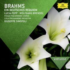 Brahms: Ein deutsches Requiem - Lucia Popp, Wolfgang Brendel, Prague Philharmonic Chorus, Czech Philharmonic Orchestra, Giuseppe Sinopoli