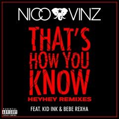 That's How You Know (feat. Kid Ink & Bebe Rexha) [HEYHEY Remixes] - Nico & Vinz, Kid Ink, Bebe Rexha