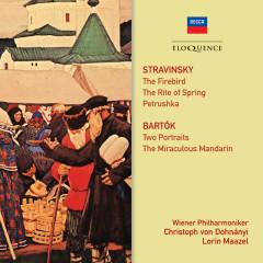Stravinsky, Bartok: Ballet Music - Wiener Philharmoniker, Christoph von Dohnanyi, Lorin Maazel, Chor der Wiener Staatsoper