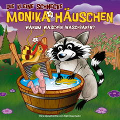 53: Warum waschen Waschbären? - Die kleine Schnecke Monika Häuschen