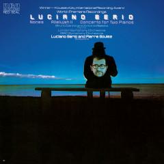 Berio: Nones, Allelujah II & Concerto for 2 Pianos - Pierre Boulez