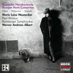 Russische Hornkonzerte - Marie-Luise Neunecker, Paul Rivinius, Bamberger Symphoniker, Werner Andreas Albert