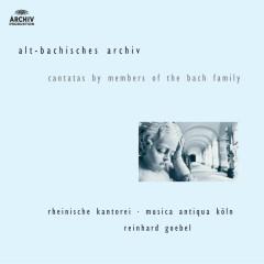 J.M. Bach, G.C. Bach,  J.C. Bach: Cantatas by members of the Bach family - Rheinische Kantorei, Musica Antiqua Koln, Reinhard Goebel