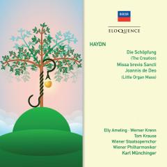 Haydn: Die Schöpfung; Messa brevis Sancti; Joannis de Deo - Elly Ameling, Werner Krenn, Tom Krause, Wiener Staatsopernchor, Wiener Philharmoniker