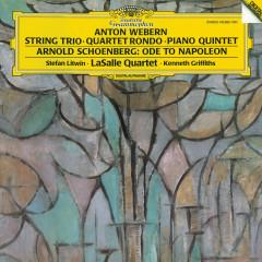 Schoenberg: Ode to Napoleon; Webern: String Trio - Stefan Litwin, LaSalle Quartet, Kenneth Griffiths