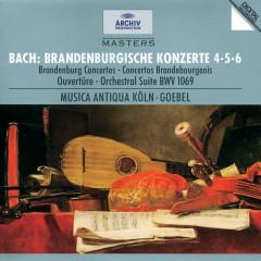 Bach, J.S.: Brandenburg Concertos Nos.4, 5 & 6; Overture No.4 - Musica Antiqua Koln, Reinhard Goebel