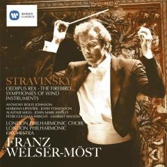 Stravinsky: Oedipus Rex, Firebird & Symphonies of Wind Instruments - Franz Welser-Möst