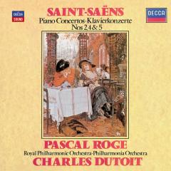 Saint-Saens: Piano Concertos Nos.2, 4 & 5 - Pascal Roge, Royal Philharmonic Orchestra, Philharmonia Orchestra, Charles Dutoit
