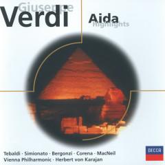 Verdi: Aida (highlights) - Renata Tebaldi, Giulietta Simionato, Carlo Bergonzi, Cornell MacNeil, Fernando Corena