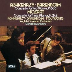 Mozart: Piano Concertos Nos. 7 & 10 - Vladimir Ashkenazy, Daniel Barenboim, Fou Ts'ong, English Chamber Orchestra