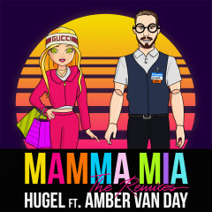 Mamma Mia (feat. Amber Van Day) [The Remixes] - HUGEL, Amber Van Day