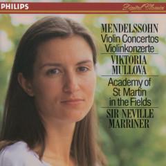Mendelssohn: Violin Concertos - Viktoria Mullova, Academy of St. Martin in the Fields, Sir Neville Marriner