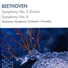 Beethoven: Symphony No. 3, Symphony No. 4 - Tasmanian Symphony Orchestra, David Porcelijn