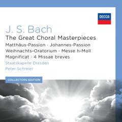 J.S. Bach: The Great Choral Masterpieces - Rundfunkchor Leipzig, Staatskapelle Dresden, Peter Schreier