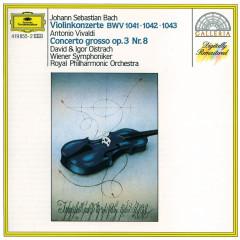 Bach, J.S.: Violin Concertos BWV 1041-1043 - David Oistrakh, Igor Oistrakh, George Malcolm, Georg Fischer, Wiener Symphoniker