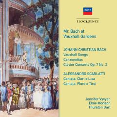 J.C. Bach: Canzonets ('Mr Bach at Vauxhall Gardens') / Scarlatti: Cantatas (c.33') - Jennifer Vyvyan, Elsie Morison, Thurston Dart