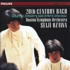 Bach, J.S.: Transcriptions by Stokowski/Schoenberg/Stravinsky/Webern - Tanglewood Festival Chorus, Boston Symphony Orchestra, Seiji Ozawa