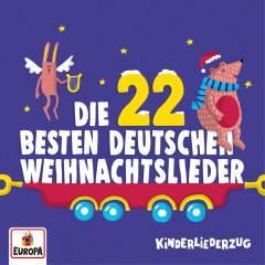 Kinderliederzug - Die 22 besten deutschen Weihnachtslieder - Lena, Felix & die Kita-Kids