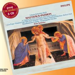 Bach, J.S.: St. Matthew Passion - Rundfunkchor Leipzig, Staatskapelle Dresden, Peter Schreier