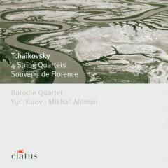 Tchaikovsky : 4 String Quartets & Souvenir de Florence  -  Elatus - Borodin Quartet