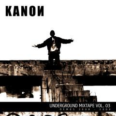 Underground Mixtape Vol. 3 - Kanon