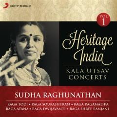 Heritage India (Kala Utsav Concerts, Vol. 1) [Live] - Sudha Raghunathan