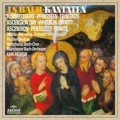 Bach, J.S.: Cantatas for Ascension Day, Whitsun & Trinity - Münchener Bach-Orchester, Karl Richter, Münchener Bach-Chor