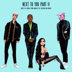 Next To You Part II (feat. Rvssian & Davido) - Becky G, Digital Farm Animals, Rvssian