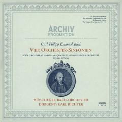 Bach, C.P.E.: Symphonies Nos.1 - 4 - Münchener Bach-Orchester, Karl Richter
