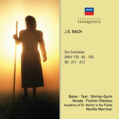 J.S. Bach: Six Cantatas - Sir Neville Marriner, Academy of St. Martin in the Fields, Julia Varady, Dietrich Fischer-Dieskau, Timothy Brown