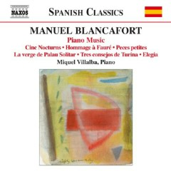 Manuel Blancafort Piano Music CD 5 No. 2 - Miquel Villalba