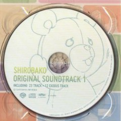 SHIROBAKO BD Vol.2 Bonus - ORIGINAL SOUNDTRACK 1 CD1 - Hamaguchi Shirou