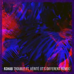 Trouble (It's Different Remix) (Single) - R3hab, Verite