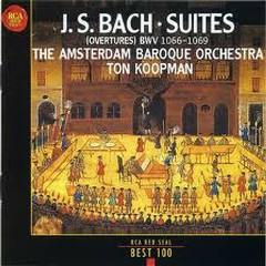 J S Bach Orchestral Suites Disc 1 - Ton Koopman