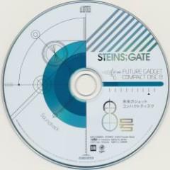 STEINS;GATE Future Gadget Compact Disc 8 Soundtrack II 'Event Horizon'