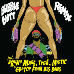Bubble Butt  - Major Lazer,GD&TOP