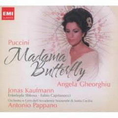 Puccini: Madama Butterfly CD1 No.1 - Antonio Pappano,Angela Gheorghiu,Jonas Kaufmann