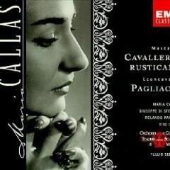 Mascagni Cavalleria Rusticana, Leoncavallo Pagliacci CD1 - Maria Callas,Various Artists