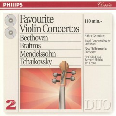 Favourite Violin Concertos CD 1