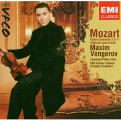 Mozart - Violin Concertos Nos. 2 & 4 Sinfonia Concertante