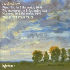 Schubert - Piano Trio, D 898; Trio movement, D 28; Notturno, D 897