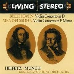 Living Stereo 60CD Collection - CD 6: Beethoven Violin Concerto; Mendelssohn: Violin Concerto